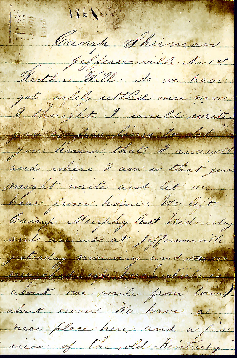 Civil War Letter